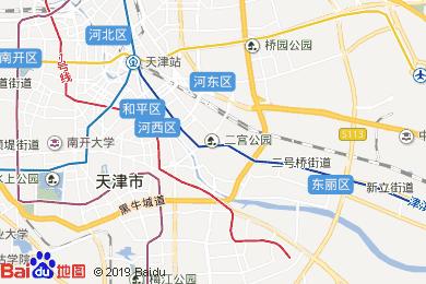 天津电子地图