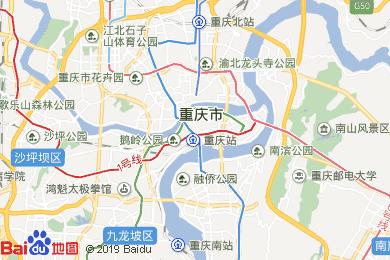 重慶電子地圖