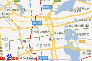 蘇州電子地圖