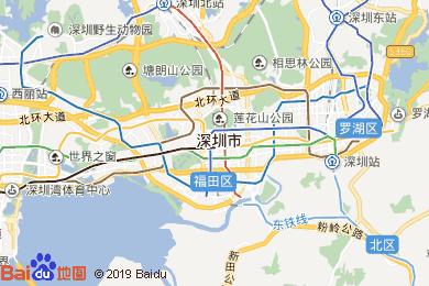 深圳電子地圖