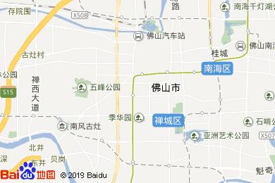 佛山电子地图