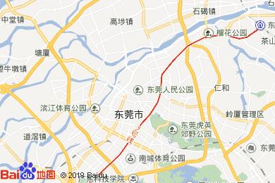 东莞电子地图