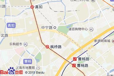 云和夜泊酒店(上海虹橋樞紐國展中心店)地圖