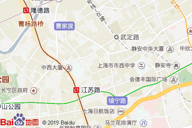 上海靜安公園CitiGO歡閣酒店地圖