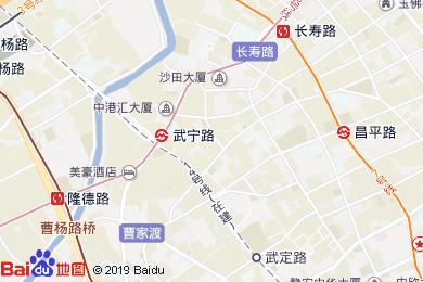 上海古井假日酒店地圖