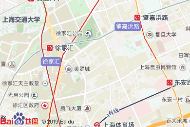 上海徐家匯CitiGO歡閣酒店地圖