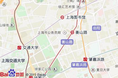 美豪麗致酒店(上海徐家匯衡山路旗艦店)地圖