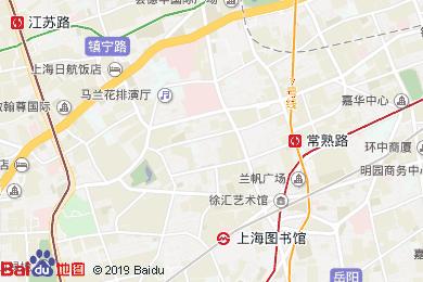 上海武康路隱居繁華公館地圖