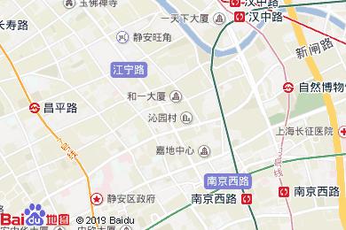 上海靜安CitiGO歡閣酒店地圖