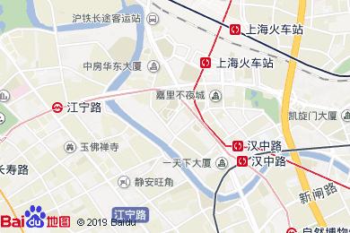 零點依精致酒店(上海火車站店)(原恒豐路店)地圖