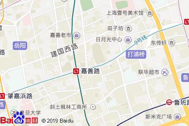 宿適輕奢酒店(上海打浦橋地鐵站店)地圖