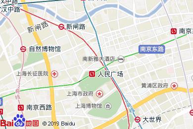 和頤至尊酒店(上海南京路步行街店)地圖