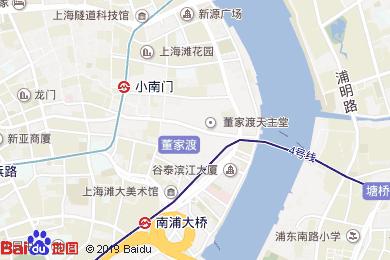 唯庭酒店(上海外灘店)地圖