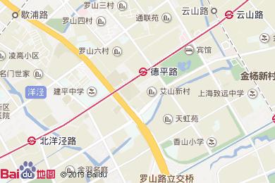 上海萬信R酒店地圖