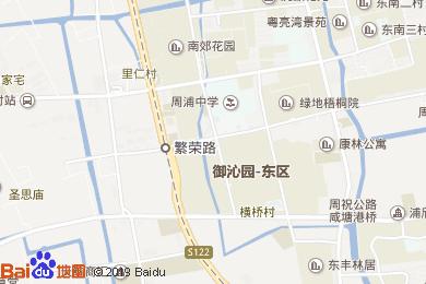 桔子水晶上海國際旅游度假區周浦萬達酒店地圖