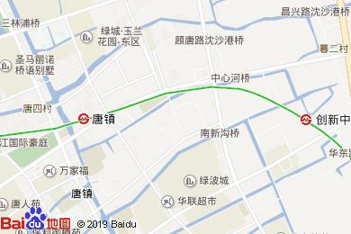 豪楓雅致酒店(上海國際旅游度假區唐鎮地鐵站店)地圖
