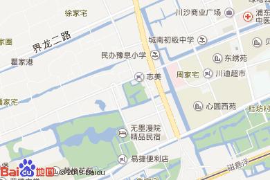 上海浦東主題樂園萬信酒店地圖