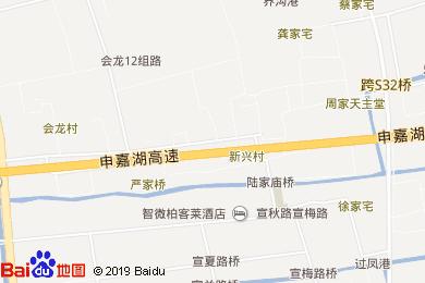 上海智微世紀麗呈酒店地圖