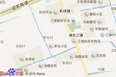 維也納酒店(上海浦東機場店)地圖