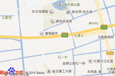 凱里亞德酒店(上海國際旅游度假區浦東機場店)地圖