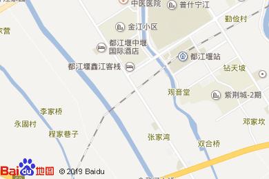 都江堰中堰·瑞铧国际酒店宴会厅地图