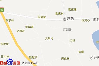 蜀州行轅鄉村音樂酒店地圖