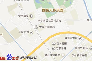 悅萊花園酒店茶樓地圖