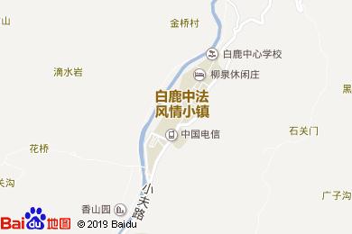 白鹿鎮鹿緣酒店地圖