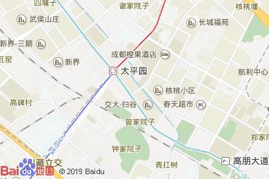 樂山面館(波爾菲特酒店西北)地圖