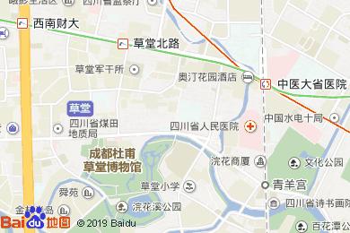 成鑫苑酒店-茶坊地图