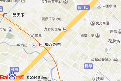 璟瑞·金港湾酒店员工餐厅地图
