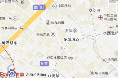 華龍酒店餐廳(營門口路店)地圖