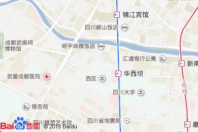 成都邛海花月酒店餐厅地图