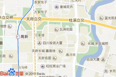 绅泰大酒店-大堂吧地图