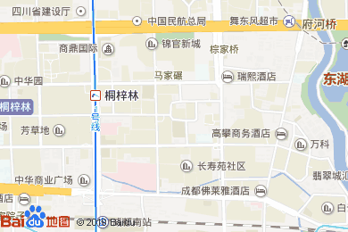 奥香厨餐厅(丰德奥克伍德华庭酒店)地图