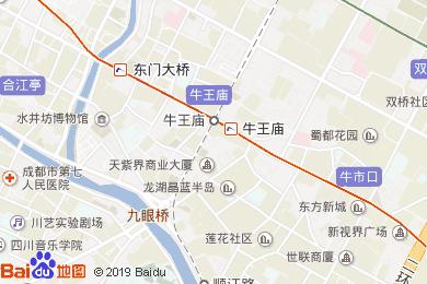 东方广场假日酒店-商务中心地图