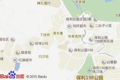 保利公園皇冠假日酒店-燒烤地圖