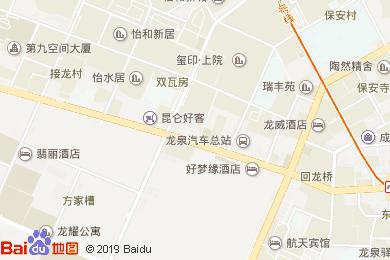 联森酒店-茶楼包房地图
