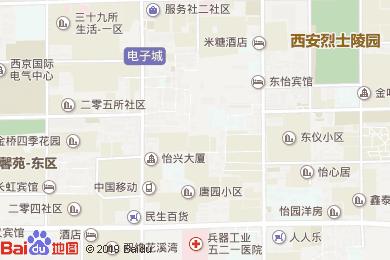 聚鼎轩快餐酒店地图