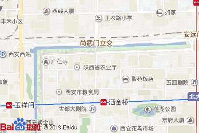 含光君悦酒店-中餐厅地图