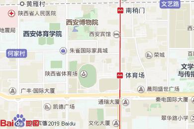 會展國際酒店陜北風情餐廳地圖