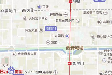 南方酒店餐廳地圖