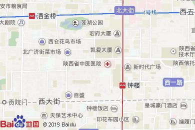齐鲁万怡大酒店中餐厅地图
