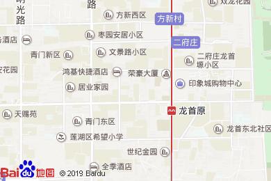 西安赛瑞喜来登大酒店(盛宴自助餐厅)地图