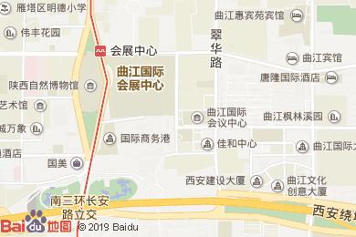 星光品味烧烤广场(starlight BBQ)华美达酒店(starlight)地图