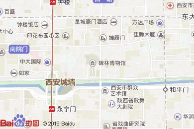 皇城豪門酒店(中餐廳)地圖