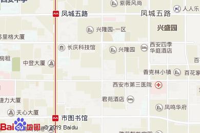 君苑酒店(餐饮部)地图