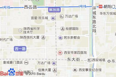金融宾馆餐厅地图