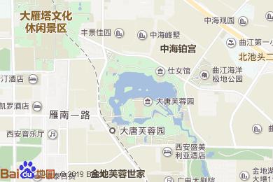 芙蓉坊酒店-西餐厅地图