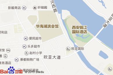 锦江国际酒店(餐饮部)地图
